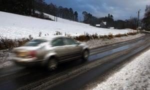 Snow Scottish Borders