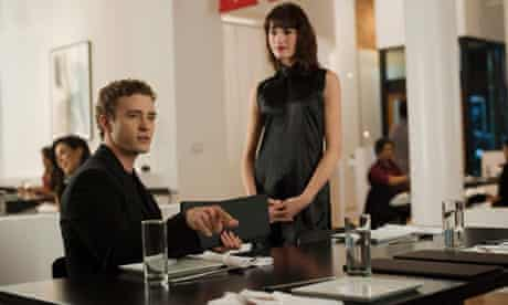 Justin Timberlake as Sean Parker in The Social Network