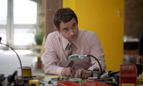 Martin Freeman as Chris Curry in Micro Men.