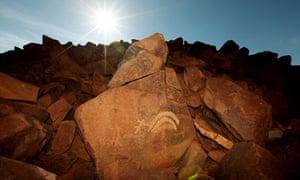 Paleolithic rock art in Western Australia