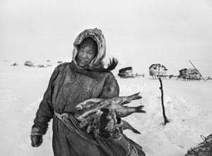 Salgado: The Nenets' diet is based on reindeer meat and fish