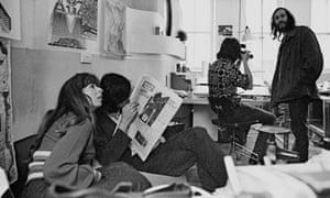 The Archigram Office interior at 53 Endell Street