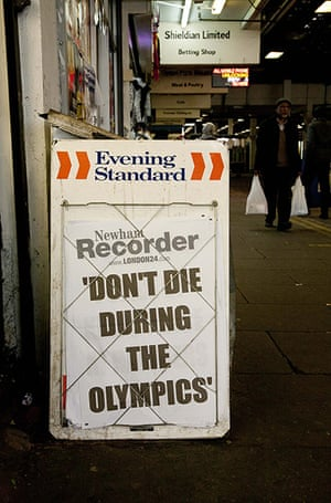 Shit London: Don't die during the Olympics