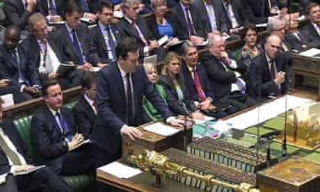 George Osborne delivers his 2012 Autumn Statement