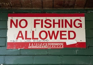 Shit London: No Fishing allowed