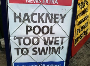 Shit London: Hackney pool