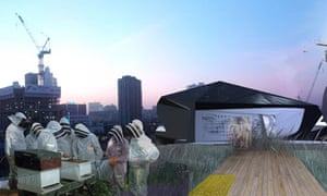 image of the SunBloc house on a rooftop