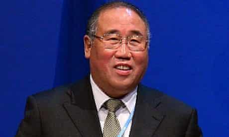 China's Xie Zhenhua at the Doha climate talks