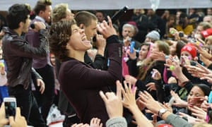 One Direction perform on NBC's Today at Rockefeller Plaza, New York City