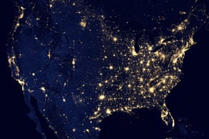 Earth from space: The United States at night