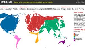 Cabon Map: Historical Emissions