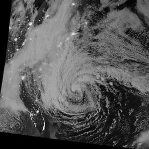 Earth from space: Hurricane Sandy off the eastern coast of the United States