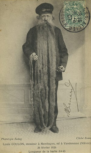 Michael Hoppen: Unknown Photographer, Louis Coulon, 'the longest beard in the world', 1910