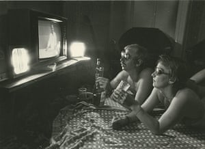 Michael Hoppen: Sun and Games, Norman and Lynda in their Holiday Hideaway