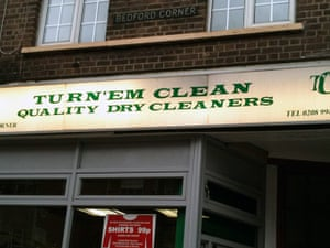 Shit London: Best/Worst Shop Name - Dry Cleaners, Turnham Green