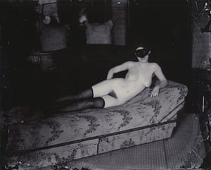 Hoppen: Ernest J Bellocq, Storyville Portrait, 1911