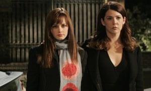 Gilmore Girls - Alexis Bledel as Rory and Lauren Graham as Lorelai