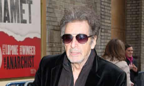 Al Pacino is currently starring in David Mamet's Glengarry Glenn Ross, on Broadway
