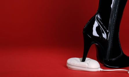 stiletto boot and mouse