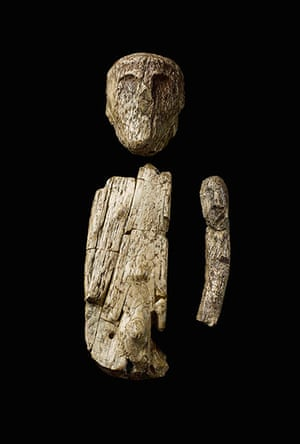 Ice age artifacts: The oldest puppet or doll: an articulated figure made of mammoth ivory