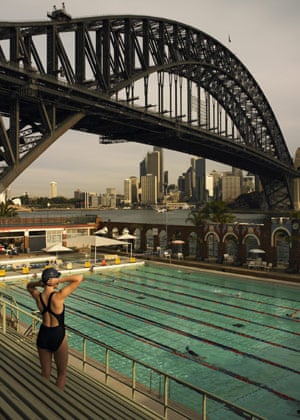 Healthiest cities: North Sydney swimming pool