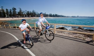 Healthiest cities: Cycling along Sydney beaches