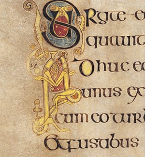 Book of Kells: Judas' betrayal of Jesus