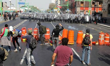 Mexico City protests