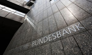 Bundesbank in Hamburg. Germany has been a key growth driver of the eurozone, but the country's resilience to the crisis is wearing thin.