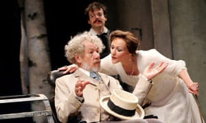 Ian McKellen and Frances Barber in The Seagull