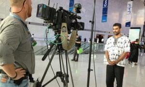 Kumi Naidoo of Greenpeace International, at Doha climate talks