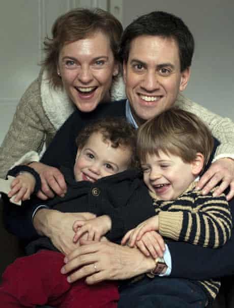 Ed Miliband's cosy family Christmas card
