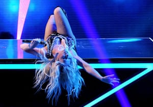Week in music: Ke$ha performs on The X Factor live elimination TV show