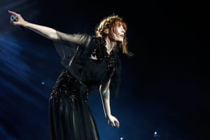 Week in music: Florence Welch of Florence and the Machine