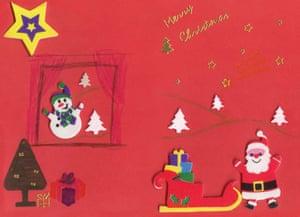 Nick Clegg Christmas card