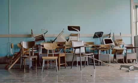 Disrupted classroom