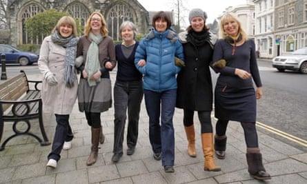 Businesswomen in Tavistock, West Devon