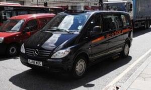 Mercedes-Benz London taxi