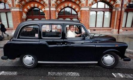 FX4 Fairway taxi cab.