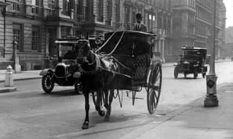 A Hansom cab