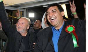 George Galloway and Arshad Ali