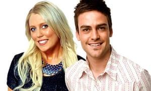 Australian radio station 2Day FM presenters Mel Greig and Michael Christian