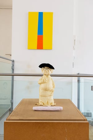 The Selby: Andrew Renton: baker sculpture