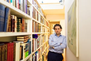 The Selby: Andrew Renton: Andrew in his basement library