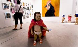 Art Basel: 'Kid With Cape' by Claudia Alvarez