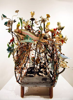 Art Basel: An untitled piece by artist Nick Cave