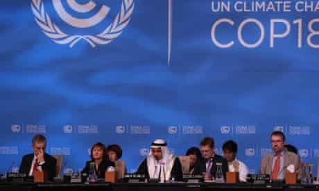 Doha climate talks