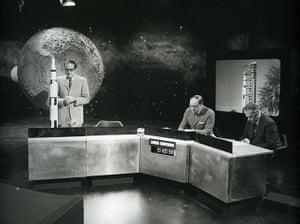 Patrick Moore: BBC coverage of the Apollo 11 mission in July 1969
