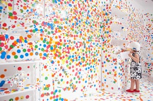 Spot On The Obliteration Room By Yayoi Kusama In