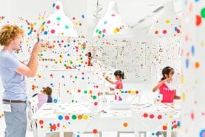Yayoi Kusama: The Obliteration Room by Yayoi Kusama, Gallery of Modern Art, Brisbane